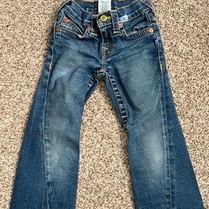 Girls True religion jeans size 5
